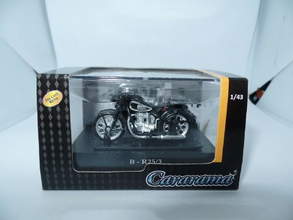 Cararama 4-91940 1/43 O Scale BMW B-25/3 Motor Bike Motorcycle and side car